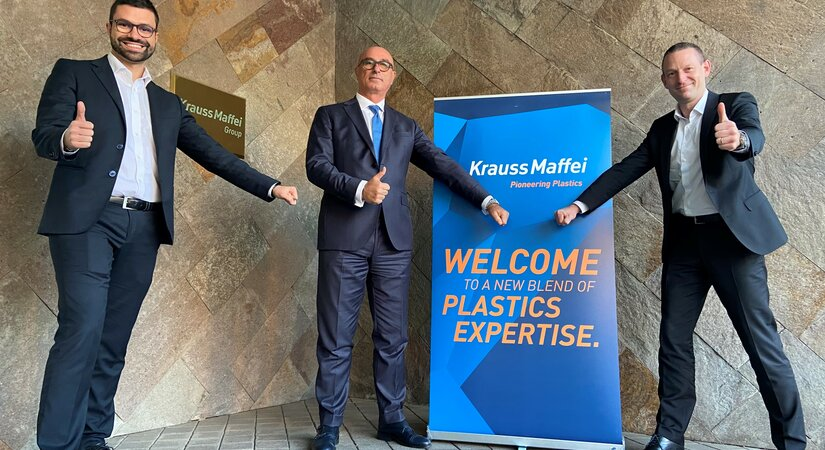 Tiziano Caprara starts as new Managing Director of KraussMaffei Italia